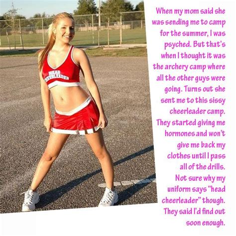 forced transgender captions hormones image result for forced feminization captions cheerleader
