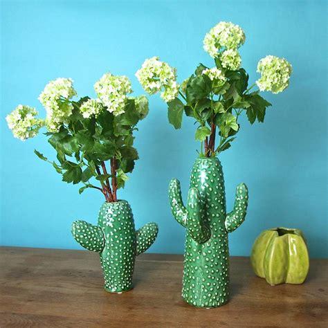 Garden Vases by Cactus Vase By Garden Trading Notonthehighstreet