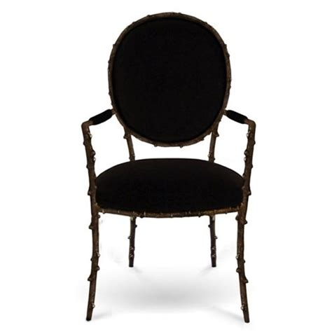 plush dining room chairs cast antique metal black plush dining chair with arms