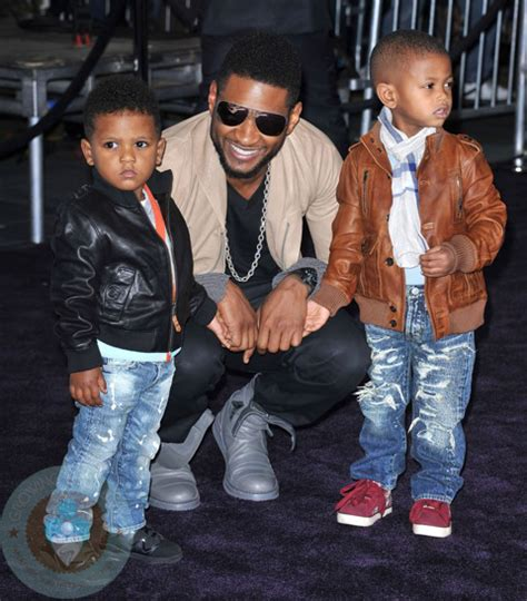 louis and grace miguel usher with his sons usher raymond v and naviyd ely raymond