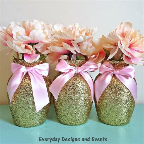 gold and pink centerpieces best 25 birthday centerpieces ideas on
