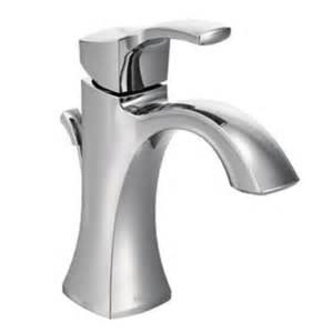 moen voss single 1 handle high arc bathroom faucet in