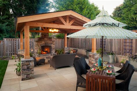Covered Patio Ideas For Backyard Looking Backyard Covered Patio Design Ideas Patio Design 299