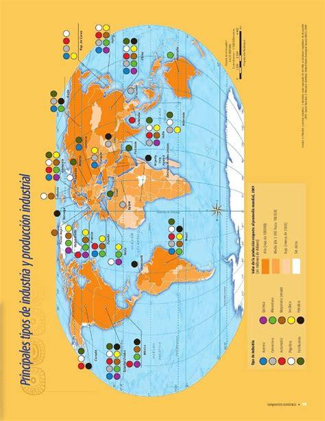 atlas de geografia del mundo 5 a grado pagina 198 libro de geografia de 5 grado 2017
