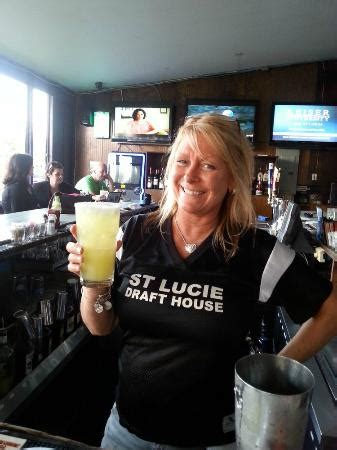 st lucie draft house our bartender kimmi picture of st lucie draft house port saint lucie tripadvisor