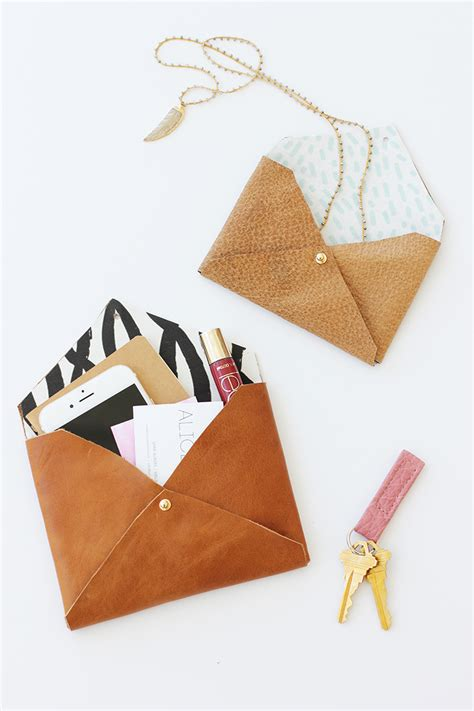 Diy Leather by And Loisdiy Leather Envelope Clutch