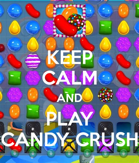 Wall Candy Stickers keep calm and play candy crush keep calm and carry on