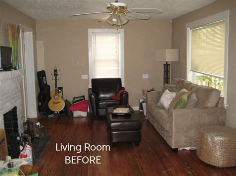 living room makeovers ideas before after decorating a 1950s bungalow hooked on houses