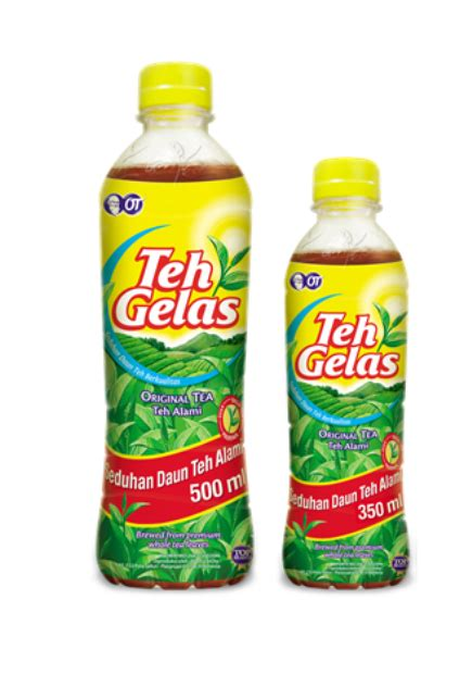 Teh Gelas Kotak 330ml teh gelas botol 330ml x 12 btl warung furniture