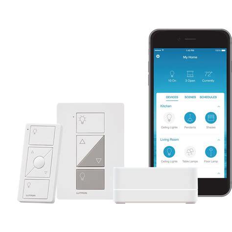 caseta wireless smart lighting dimmer switch starter kit lutron caseta wireless smart lighting l dimmer switch