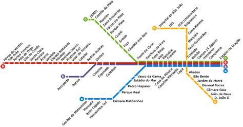 metro porto portogallo m 233 tro de porto le plan las lignes les horaires les
