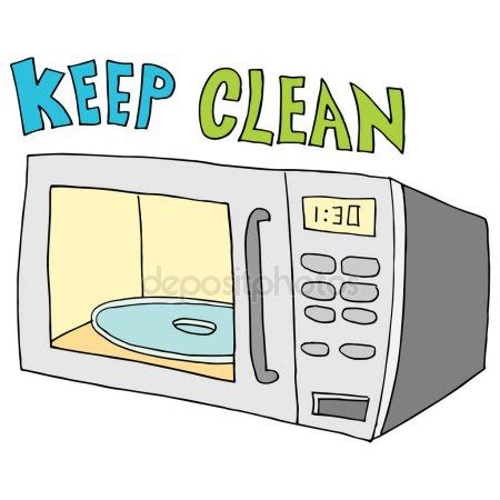 keep the microwave clean sign | just b.cause