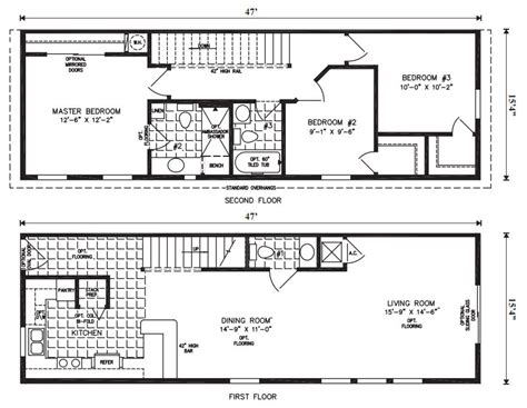 Mobile Homes Floor Plans by Manufactured Home Plans Smalltowndjs Com