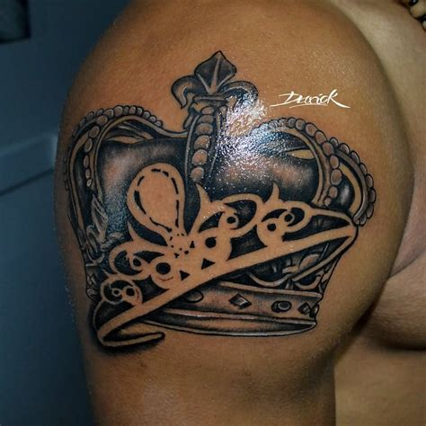 king crown tattoo designs king and crowns together tattoos www pixshark