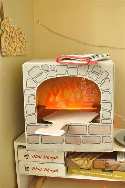 How To Make A Paper Oven - image result for brick like diy construction paper