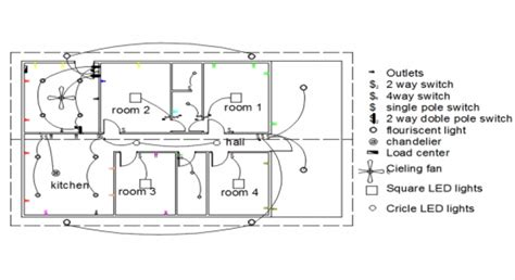 electrical layout plan of residential building pdf house electrical layout plan dwg home deco plans