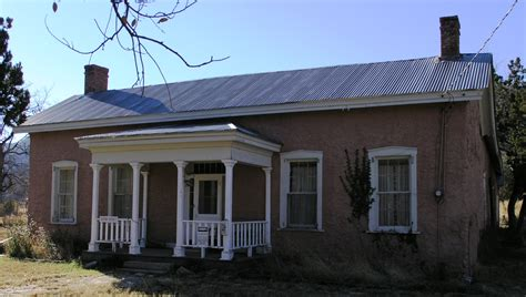 Small Ranch Homes File Old Dolan Home In Lincoln New Mexico Jpg Wikimedia