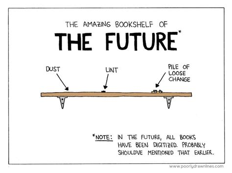 after the digital futures books bookshelf of the future