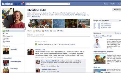 fb old facebook adding a cover photo to your timeline