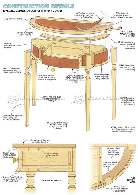 hall cabinet woodworking plans