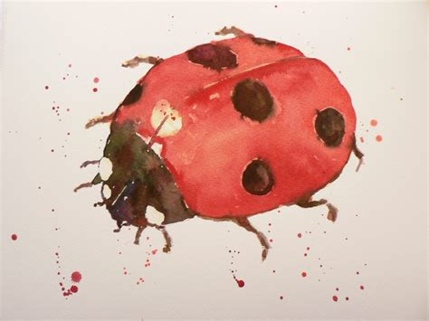 watercolor tattoos ladybug watercolor ladybug designs ideas and meaning