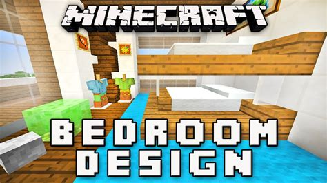 how to make a modern bedroom in minecraft minecraft tutorial how to make a bedroom with bunk beds modern house build ep 13