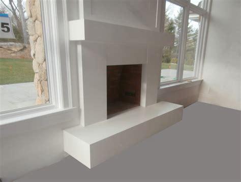 concrete fireplace mantel modern white concrete fireplace surround and mantel