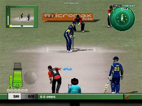 cricket play ea cricket 2012 kfc ipl 4 version for free