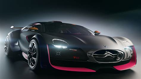 citroen supercar citro 235 n survolt electric supercar dream fantasy cars