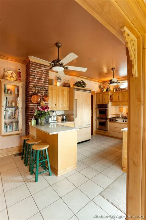 kitchen ceiling fan ideas country kitchen design pictures and decorating ideas
