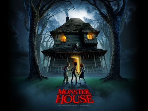 monsters house get free wallpapers monster house