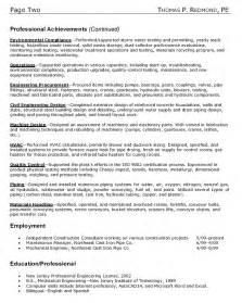 Building Consultant Sle Resume by Resume Format Resume Exles Construction