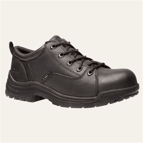 timberland pro shoes womens titan oxford alloy safety toe