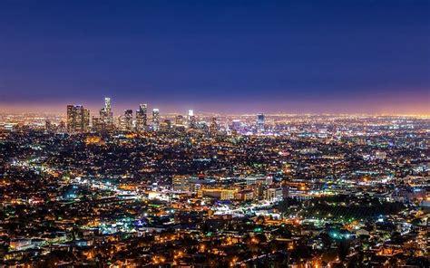 landscaping cities landschaft stadt nacht geb 228 ude manhatton ultrahd 4k tapete hintergrundbilder
