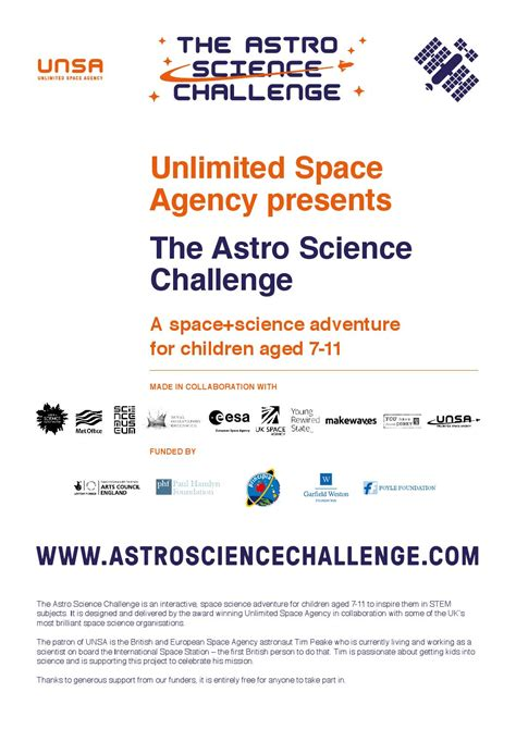 science unlimited the challenges of scientism books how to do the astro science challenge by unlimited issuu