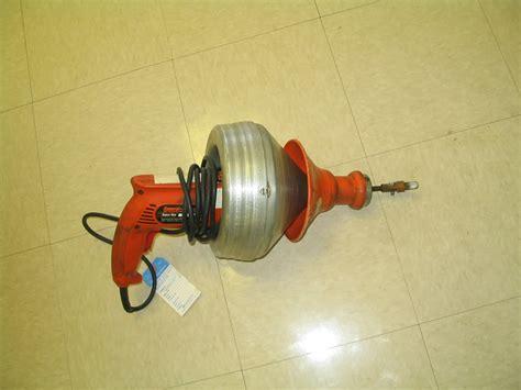 Plumbing Power Auger by Plumbing Rental Rent All Mart Lima Ohio
