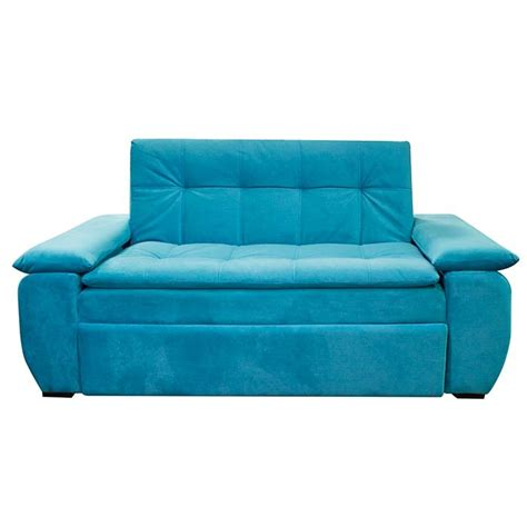 sofa cama de espuma sof 225 cama espumados brooklin focus turquesa alkosto tienda