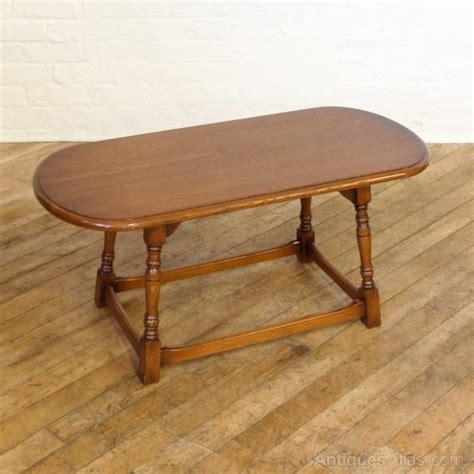 Oval Oak Coffee Table Antiques Atlas Vintage Oak Oval Coffee Table