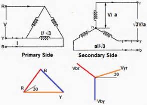 wye delta transformer wiring diagram get free image