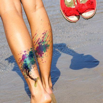 watercolor tree tattoo ideas best 25 watercolor tree ideas on