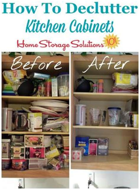 how to declutter kitchen how to declutter kitchen cabinets