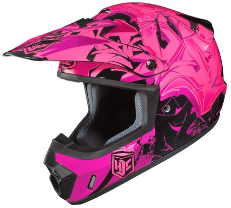 womens motocross helmet hjc womens cs mx 2 csmx ii graffed motocross mx off road