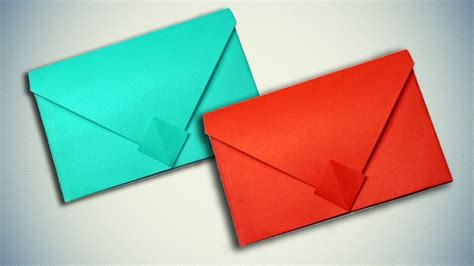 How To Make A Paper Envelope Without Glue - how to make a paper envelope without glue or