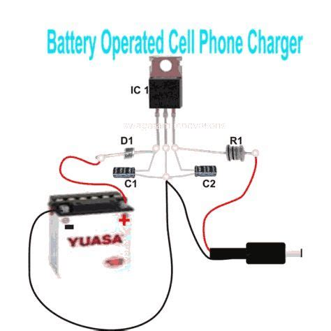 can t charge a cell phone with a power bank i built