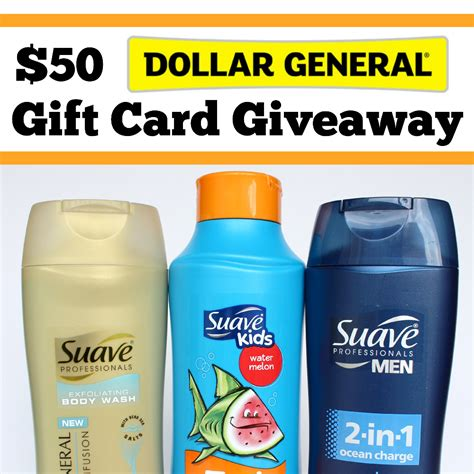 Dollar General Giveaway - 50 dollar general gift card giveaway winner