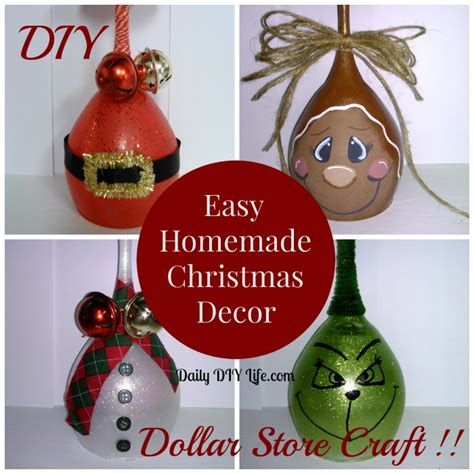 Home Made Decoration by Easy Handmade Decor Diy Dollar Store Craft