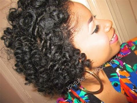 bantu knot out on natural hair  straightened youtube