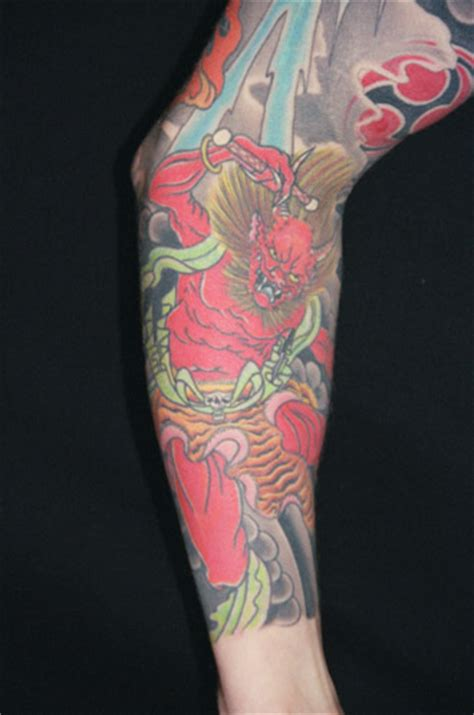 troy denning tattoo oni by troy denning tattoonow