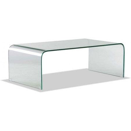 Table Basse Transparente But by Table Basse En Verre Transparent Lexy Xl Achat Vente
