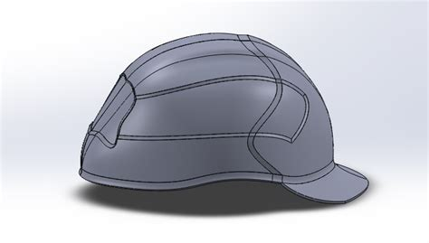 helmet design solidworks hard hat designs by tfaniry